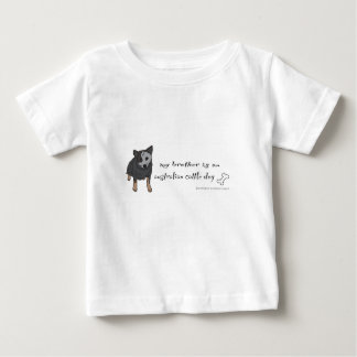 australian cattle dog - more breeds infant t-shirt