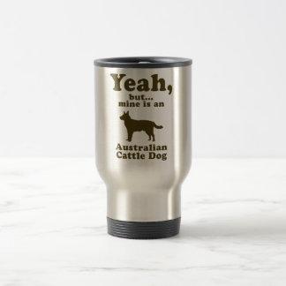 Australian Cattle Dog 15 Oz Stainless Steel Travel Mug