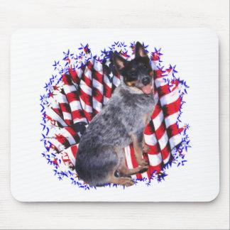 Australian Cattle Dog Patriot Mouse Pad