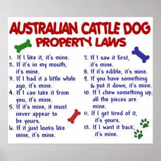 AUSTRALIAN CATTLE DOG PL2 POSTER