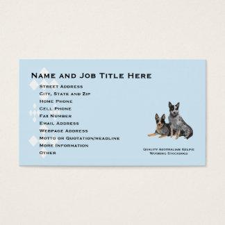 Australian Cattle Dog Profile Info Card
