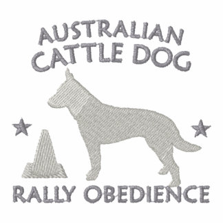 Australian Cattle Dog Rally Obedience