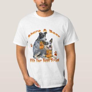 Australian Cattle Dog Share A Beer Apparel Tee Shirt