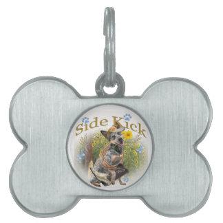 Australian Cattle Dog Side Kick Pet ID Tag