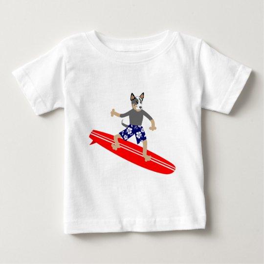 Australian Cattle Dog Surfer Baby T-Shirt