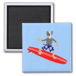 Australian Cattle Dog Surfer Magnet