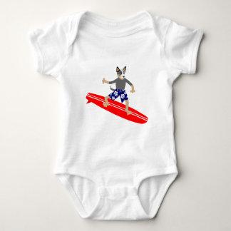 Australian Cattle Dog Surfer Shirts