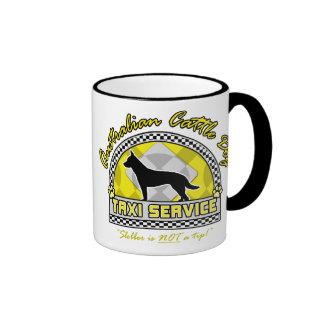 Australian Cattle Dog Taxi Service Mugs