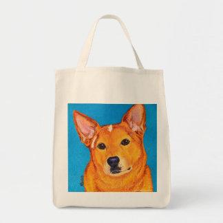 "Australian Cattle Dog Tote Bag - ""Red"""