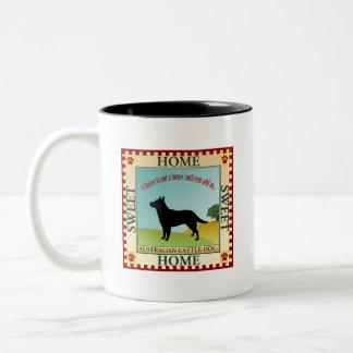 Australian Cattle Dog Two-Tone Coffee Mug