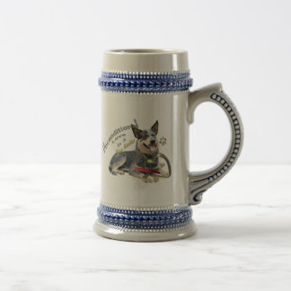 Australian  Cattle Dog Unconditional Love Mugs