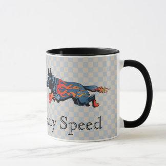 Australian Cattle Dog - Unsafe at any Speed Mug