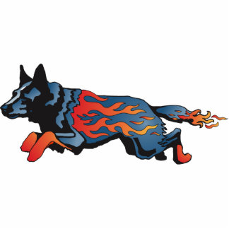 Australian Cattle Dog - Unsafe at any Speed Acrylic Cut Out
