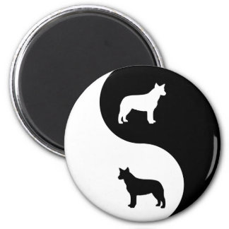Australian Cattle Dog Yin Yang Magnet