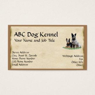 Australian Cattledog Custom Profile Card