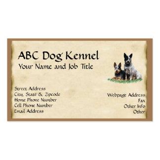 Australian Cattledog Custom Profile Card Business Card