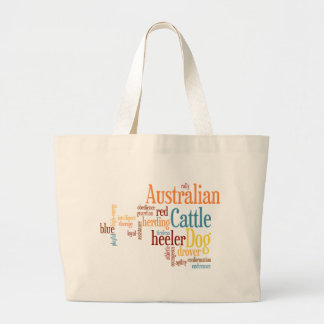 Australian Cattledog Large Tote Bag