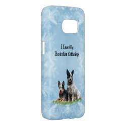 Case-Mate Barely There Samsung Galaxy S7 Case with Australian Cattle Dog Phone Cases design
