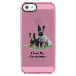 Uncommon iPhone 5/5s Permafrost® Deflector Case with Australian Cattle Dog Phone Cases design