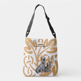Australian Cattledogs Crossbody Bag