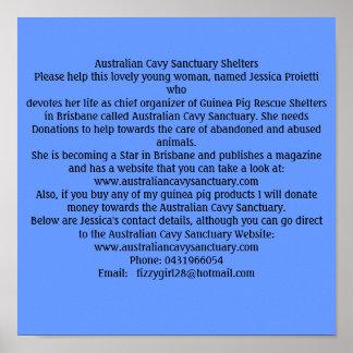 Australian Cavy Sanctuary Poster