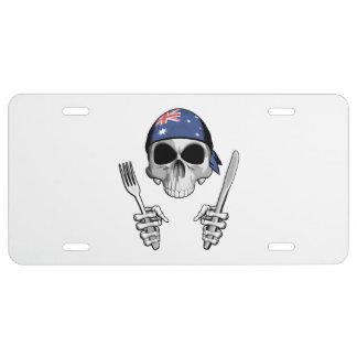 Australian Chef 4 License Plate