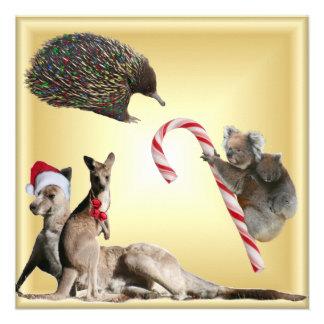 Australian Christmas Animals Announcement