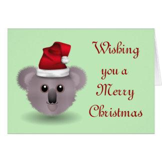 Australian Christmas Happy Holidays Season's Greet Card
