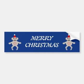 Australian Christmas Koala Bear Custom Car Sticker