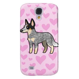 Australian Cle Dog / Kelpie Love Samsung Galaxy S4 Cover