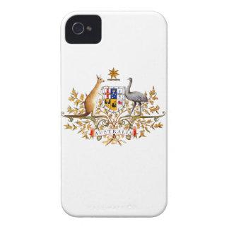 australian coat of arms iPhone 4 case