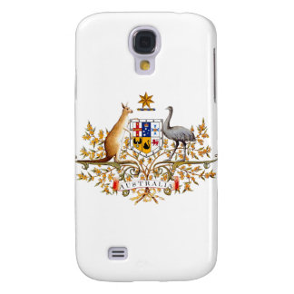 Australian coat of arms designed items galaxy s4 case