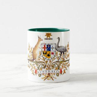 Australian coat of arms designed items mugs