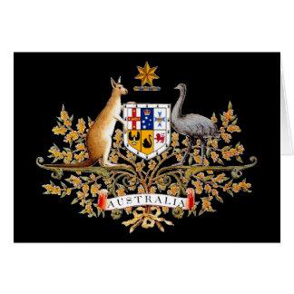 Australian Coat of Arms Greeting Card