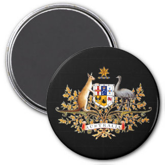 Australian Coat of Arms Magnet