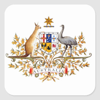 australian coat of arms stickers