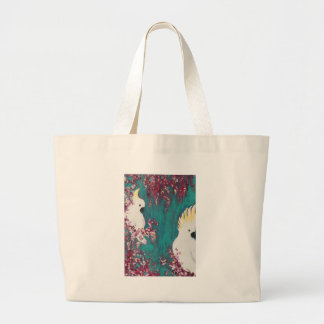 Australian Cockatoo Large Tote Bag