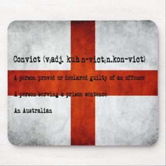 Australian convict definition mousepads