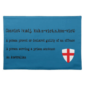 Australian convict definition place mats