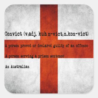 Australian convict definition stickers