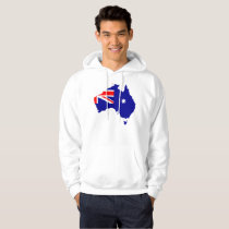 Australian country flag hoodie