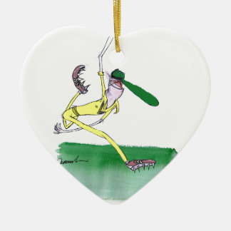 australian cricketer spin bowling, tony fernandes ceramic heart decoration