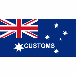 Australian Customs, Australia Photo Cutout