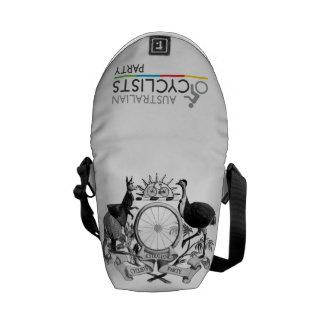 Australian Cyclists Party Sml Messenger Bag