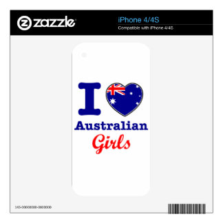 Australian design decals for the iPhone 4