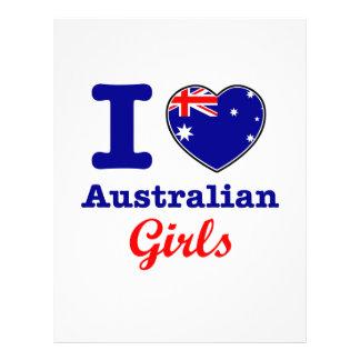 Australian design letterhead