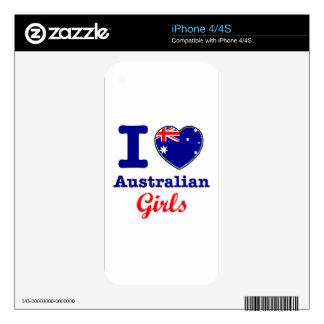 Australian Design iPhone 4 Decals