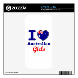 Australian Design Skin For iPhone 4S