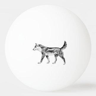 Australian Dingo Ping-Pong Ball
