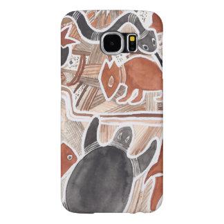 Australian Dreams Animals Turtle Snake Samsung Samsung Galaxy S6 Case